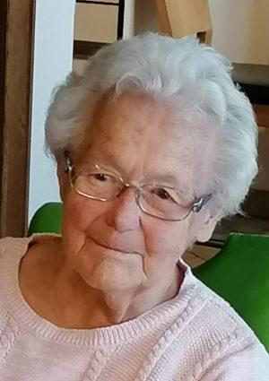 Portrait von Hermine Magenschab geb. Gary