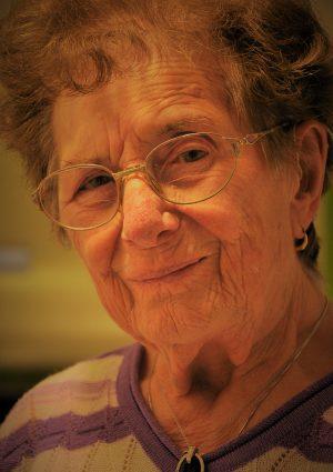 Portrait von Ernestine Juliana Bind geb. Strasser